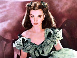 Scarlett O'Hara, libertà in un corsetto
