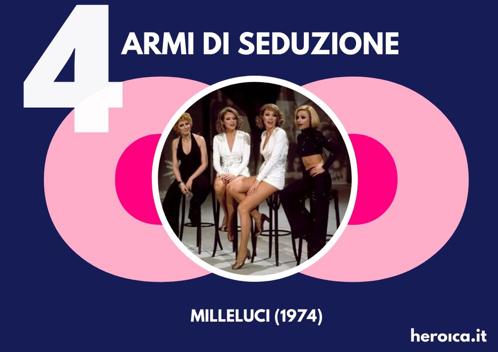 """Raffaella Carrà, Liberazione Sessuale: """"Milleluci"""" (1974)"""